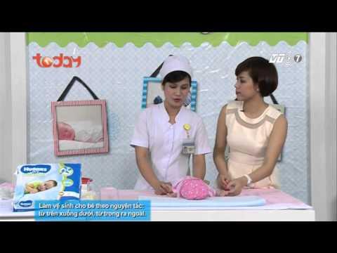Làm mẹ tập 29 - P2 -Kỹ năng vệ sinh cho bé gái