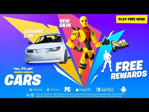 Fortnite Cars Event Youtube
