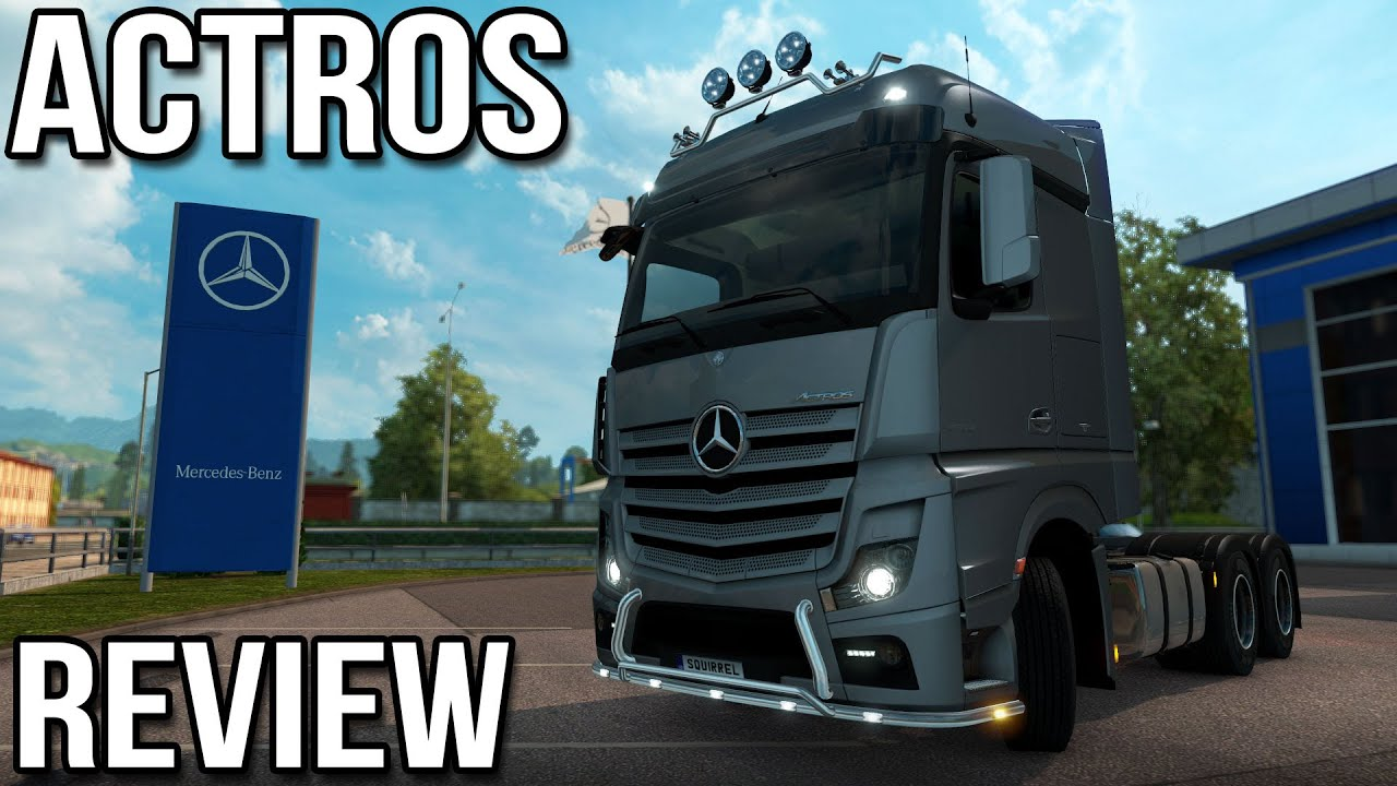 Mercedes benz actros review euro truck simulator 2 youtube for Mercedes benz dealership locations