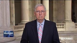 Senate Majority Leader on the GOP economic proposal, 2020 election