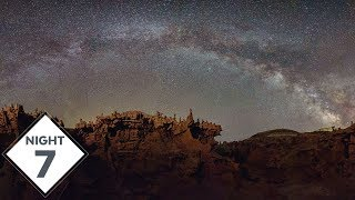 fantasy canyon utah milky way photography for the seventh night thegreatmilkywaychase vlog