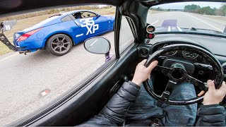 350z-blew-a-rod-trying-to-beat-my-turbo-d-miata