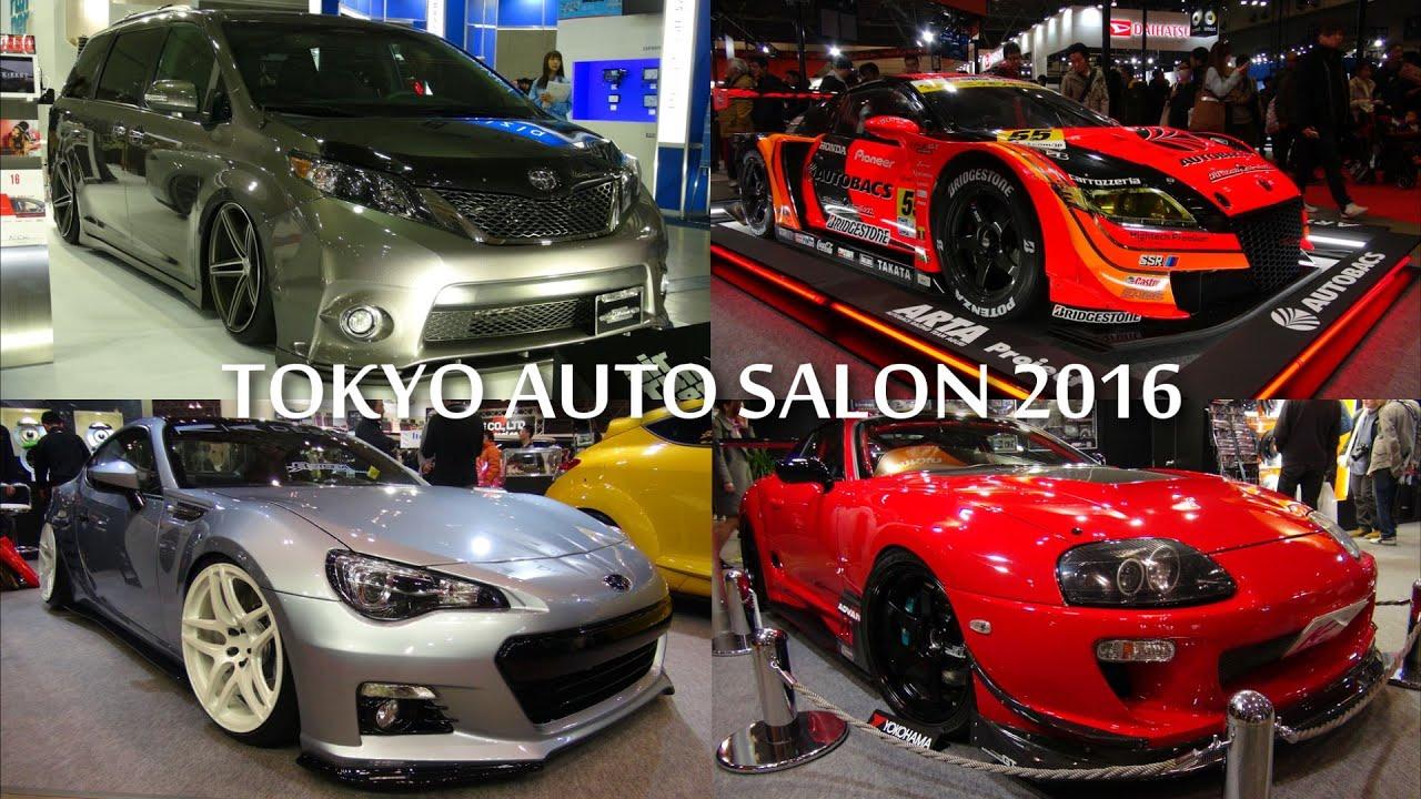 tokyo auto salon 2016 2016 2016 youtube. Black Bedroom Furniture Sets. Home Design Ideas