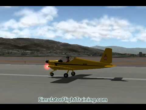 RV-12 LSA light-sport airplane X-Plane Aircraft flight simulator program