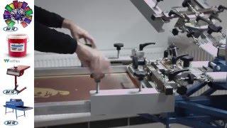 Siebdruck GoPro Anleitung #4 - T-Shirt bedrucken mit M&R Siebdruckkarussell