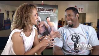 """Never Back Down 2"" Stars Michael Jai White + Scottie Epstein"