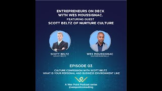 Entrepreneurs On Deck |Episode 3|Featuring Nurture Culture own Scott Beltz