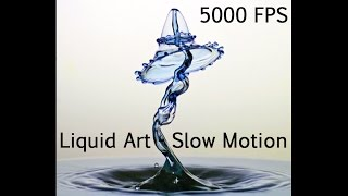 Liquid Art - Highspeed Video mit über 5000 fps!