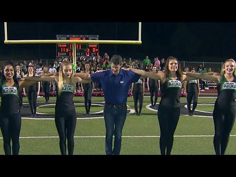 Highstepping & Flag Running With Lake Dallas High School