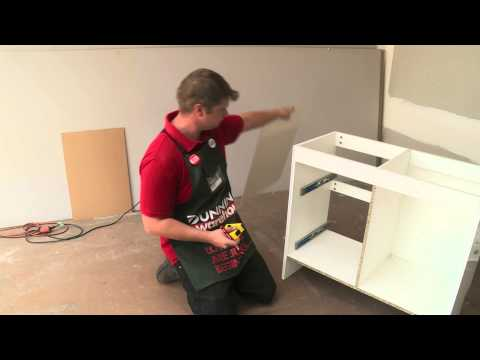 How To Install A Bathroom Vanity - DIY At Bunnings