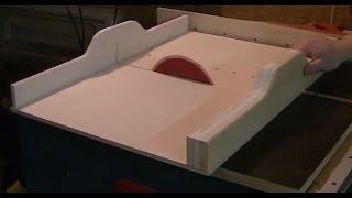 wie stellt man einen tischkreissaegen anschlag richtig ein deboj. Black Bedroom Furniture Sets. Home Design Ideas