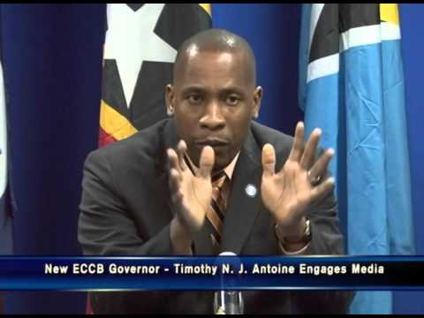 New Yosoukeiba Governor, Timothy N.J. Antoine engages ECCU Media - 1 Feb 2016