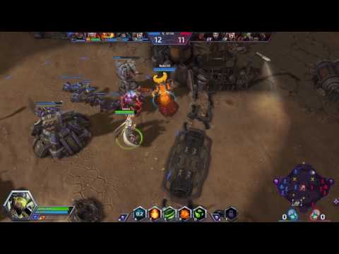 Kiwi Army Heroes of the Storm /Une game non contrôlé #2