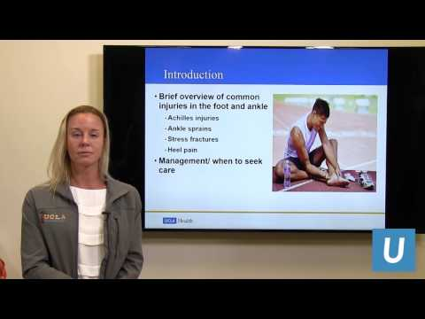 Sports Injuries in the Foot and Ankle | UCLAMDCHAT Webinars