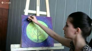 Вебинар по арт-терапии Кристины Сельдиной