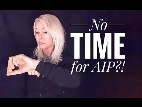 AIP Tips for Busy People!