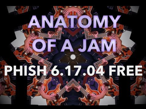 Phish Free Live In Brooklyn ► 6-17-2004 Jam Analysis & Trey Anastasio Solo with Guitar Tab