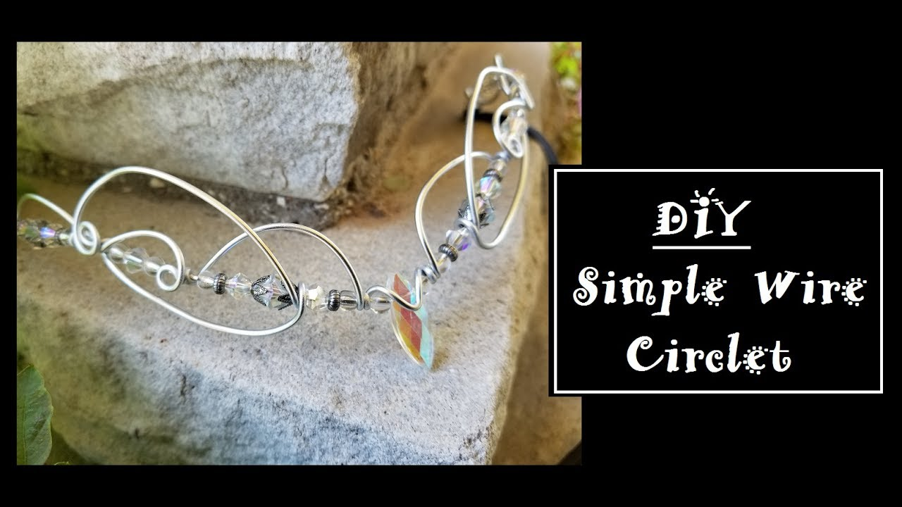 how to make a circlet with wire