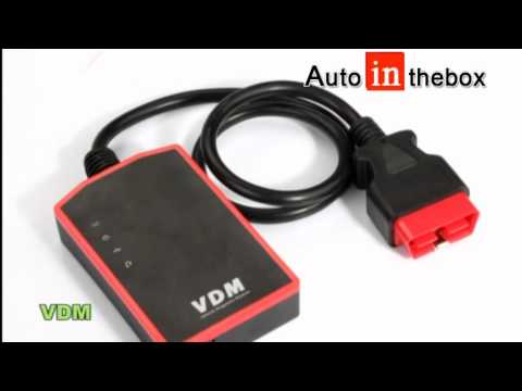 Genuine UCANDAS VDM Wireless Vehicle Diagnostic Moudle Universal Car Diagnostic Tool