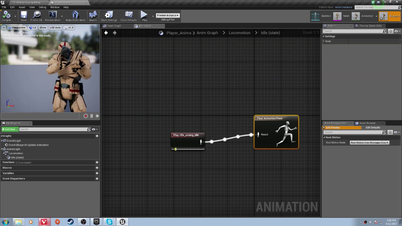Advanced fps in ue4 ep1 setup and animations youtube advanced fps in ue4 ep1 setup and animations malvernweather