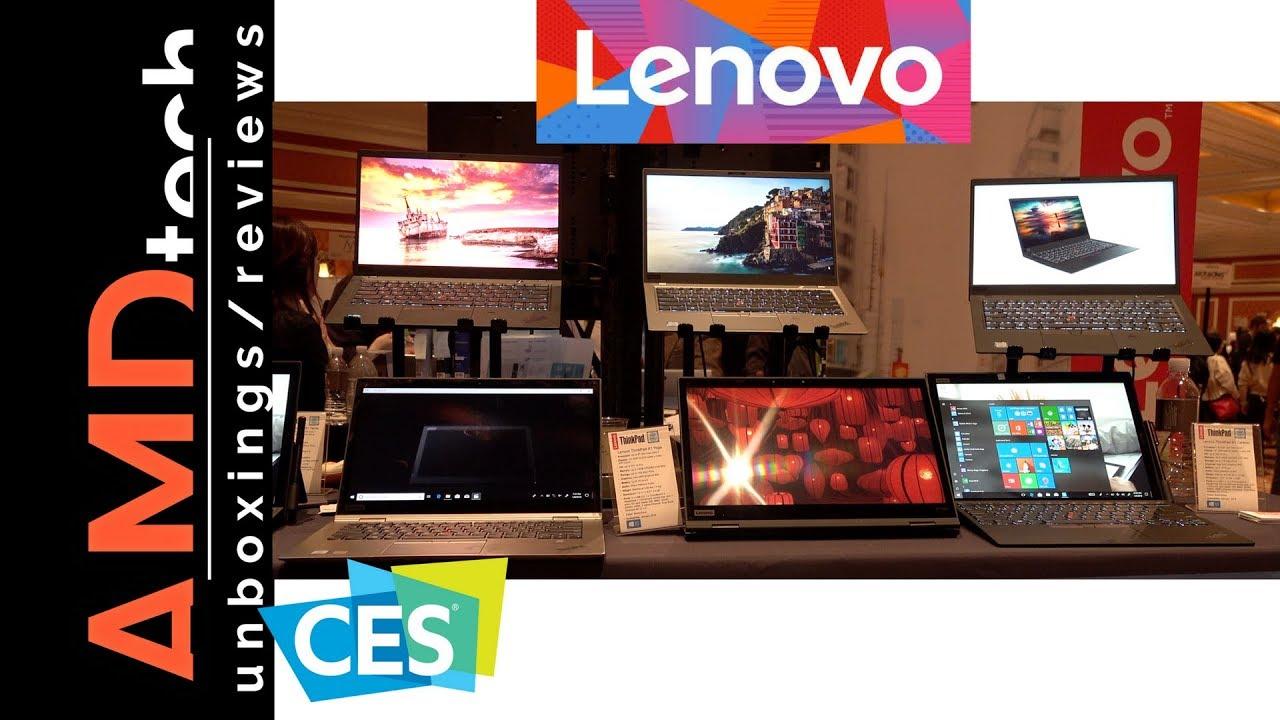 CES 2018: Lenovo Thinkpad X1 Carbon, X1 Yoga, X1 Tablet & Lenovo Miix 630