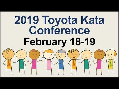 U.S. 2019 Toyota Kata Conference Feb. 18-20
