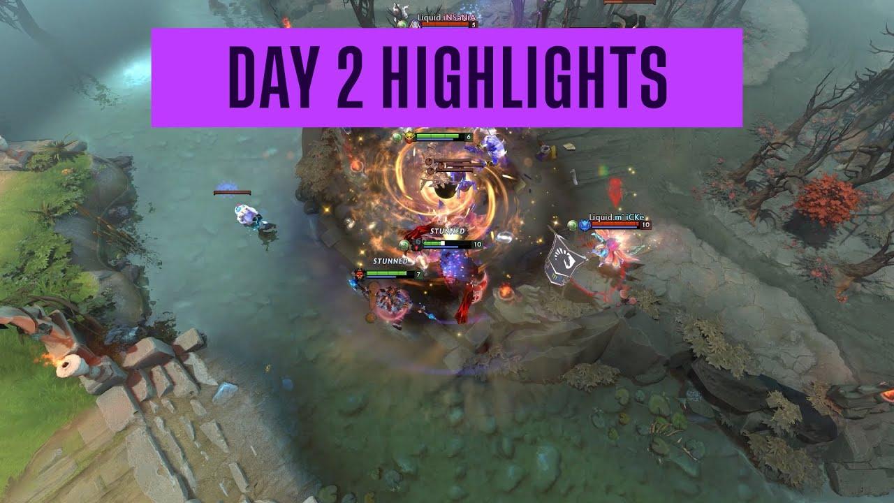 DreamLeague Season 14 DPC EU Day 2 Highlights