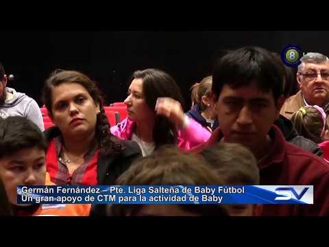 Liga Salteña de Baby Fútbol recibe fuerte apoyo de CTM (HD)
