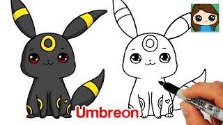How to Draw Umbreon | Pokemon EASY Chibi Baby #5