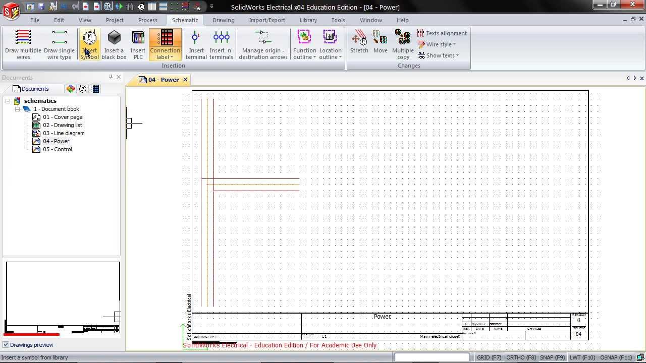 Creating Schematics In Solidworks Electrical 2d Youtube Plc Schematic Symbols Chart Get Free Image About Wiring Diagram
