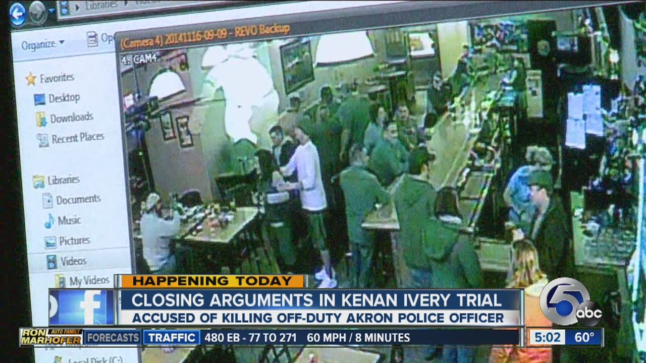 5AM: Closing arguments in Kenan Ivery trial