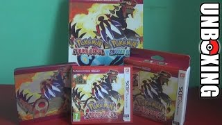 UNBOXING - Pokémon Rubino Omega (Limited Edition)