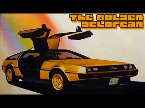 DeLorean Spotlight: Gold DeLorean At Petersen Automotive Museum Framing John DeLorean Premiere Event