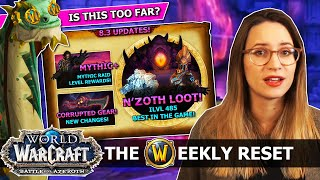 Did Blizz Just NAIL 8.3 Gearing?! Guaranteed Best Traits, Mythic+ Upgrade & N'zoth