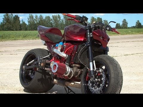 Bike Motors - Z1000 Turbo streetfighter [English subtitles]