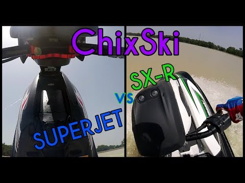 ChixSki: Review Yamaha Superjet vs. Kawasaki SX-R 1500
