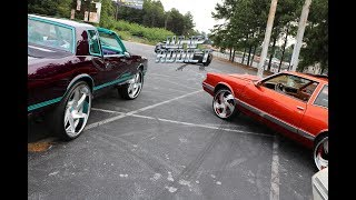 WhipAddict: G Bodys of 17', Monte Carlo, Regal, Cutlass, Malibu, Burnouts on Rims
