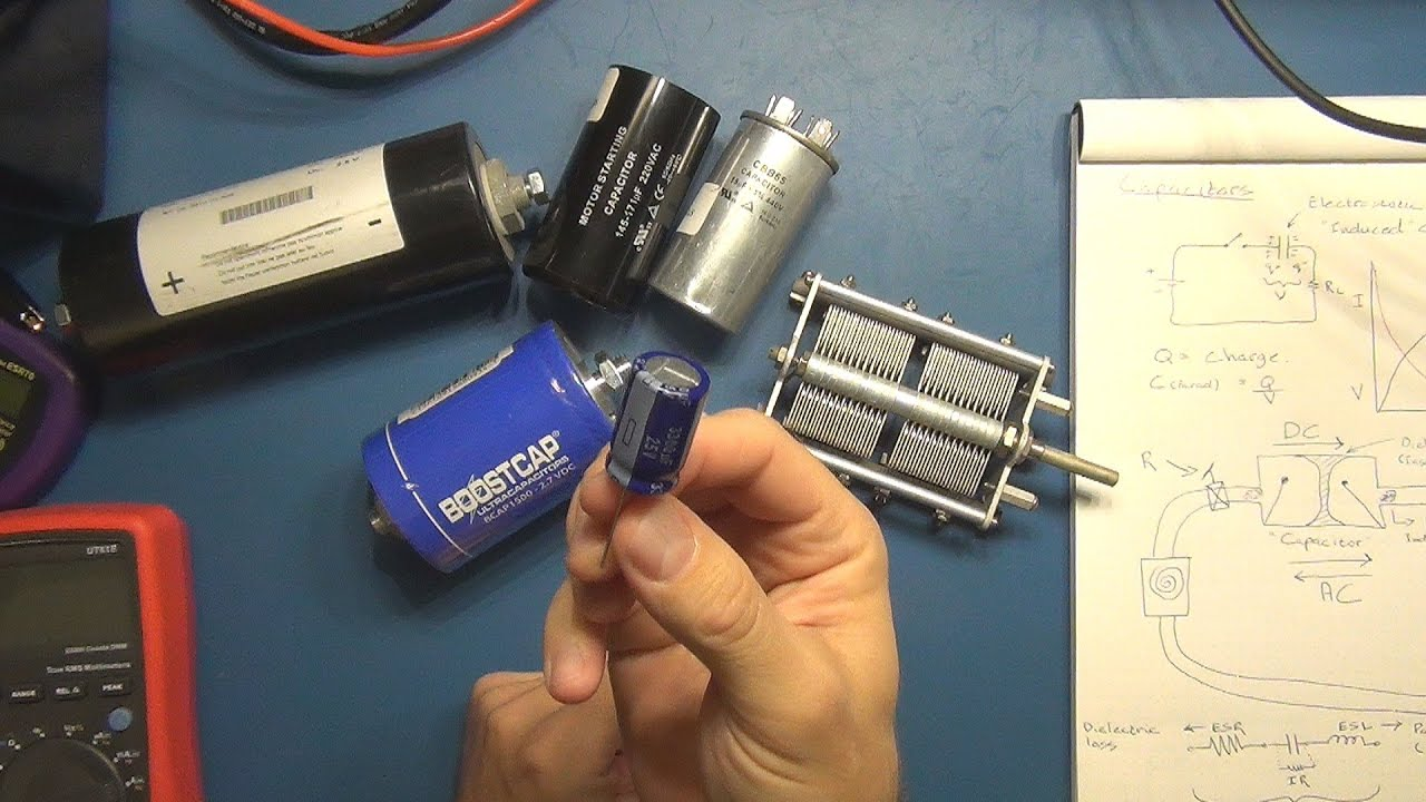 Electronics Tutorial 9 Capacitors Part 1 Youtube Capacitor Circuit And Current Flow Forum Circuits