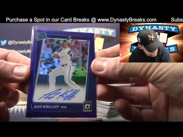 2021 Donruss Optic Baseball Card 4 Box Partial Case Break #4   Sports Cards