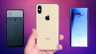 Comparison of Samsung Galaxy Note 9 vs Apple iPhone XS Max