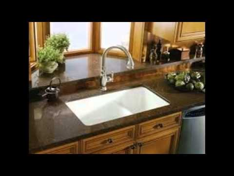 Ceramic Undermount Kitchen Sinks - YouTube