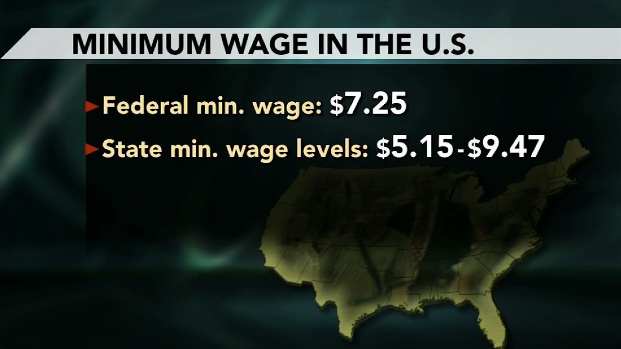 how to raise the minimum wage percent out losing jobs or how to raise the minimum wage 107 percent out losing jobs or profit newshour