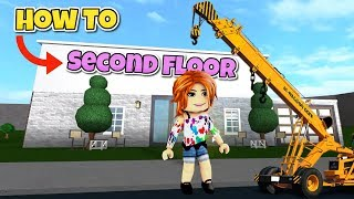 how To Build A Second Story in Bloxburg | Second Floor Bloxburg Tutorial [Step by Step]