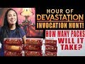 Hour of Devastation UNBOXING! How many packs will it take to find an Invocation? Magic the Gathering