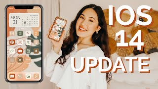 *iOS 14* aesthetic iPhone customization ideas + organization tips/tricks! Step by step tutorial!