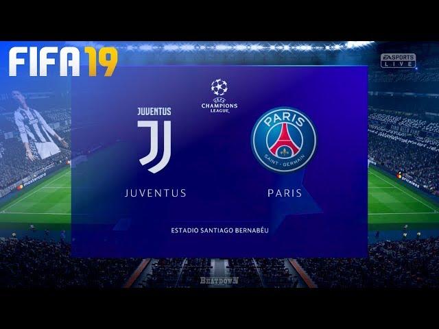 FIFA 19 Demo - Juventus vs. Paris Saint Germain @ Estadio Santiago Bernabe?u