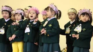 聖心幼稚園聖誕2014