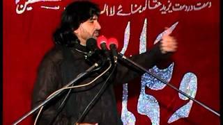 allama zulfiqar haider naqvi on 25 rajab at (gharera)part 1/4(2011) jalsa ch qamar zaman