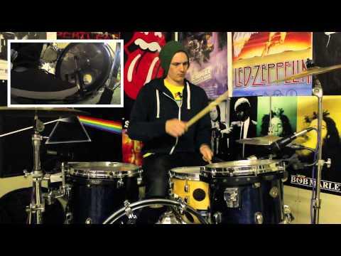 Cool Beat & Tasty Drum Lick - Intermediate - Lesson #183