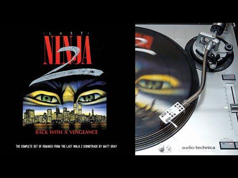 Last Ninja 2: Back With A Vengeance - vinyl LP collector face A (Kickstarter)